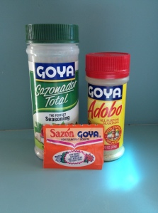 Goya Seasonings