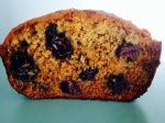 Blueberry Banana Bread Made With Whole Wheat Flour