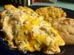Cream Cheese ChickenEnchiladas