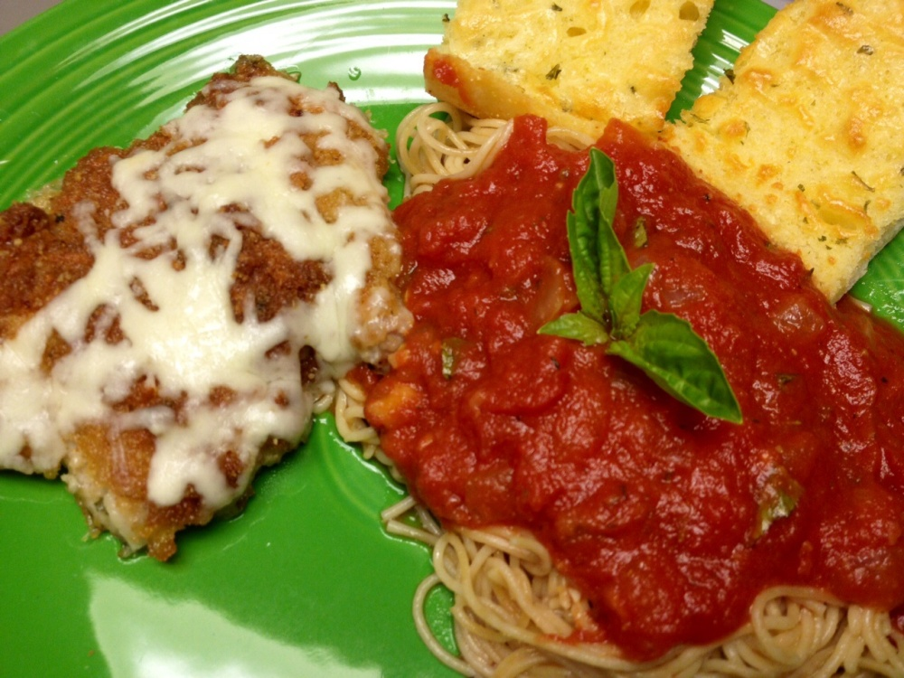 Chicken Parmesan  (1/6)
