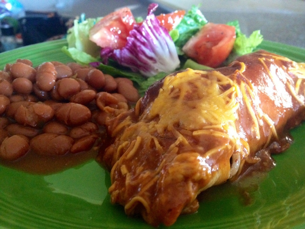 Pulled Pork Enchiladas (1/6)