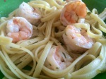 Shrimp Linguini With Lemon Butter Sauce