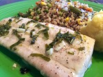 Mahi Mahi With Basil Lime Butter